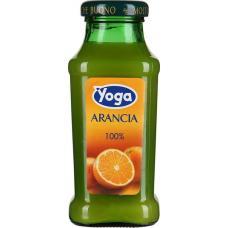 Сок Yoga Апельсин 0,2 л стекло (в упаковке 24 шт)