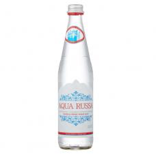 """Вода """"Aqua Russa"""" 0,5 л стекло газ (в упаковке 12 шт)"""