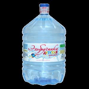 Вода детская «Эльбрусинка» 19л, одноразовая тара