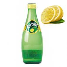 """Минеральная вода """"Перрье"""" лимон стекло 0.33л (в упаковке 24 шт)"""