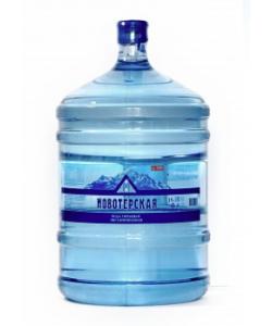 Питьевая вода «Новотерская» 19 л (в оборотной таре)