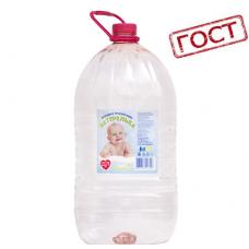 """Детская вода (от 3 лет) высшей категории """"Натурелька"""" 6,0 л негаз ПЭТ розовая бут. (в упаковке 2 шт)"""