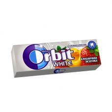 Orbit Белоснежный жевательная резинка Клубнич экзотика 13.6г