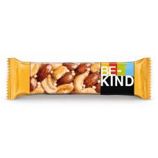 BE-KIND Арахис, миндаль, мед, горький шоколад 6*12*40г