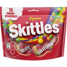 Skittles жевательные конфеты в глазури Фрукты 100г