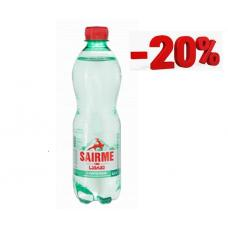 Супер распродажа ассортимента Sairme. Минеральная вода Саирме 0,5 л ПЭТ газ (в упаковке 12 шт)