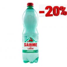 Минеральная вода Саирме 1,0 л ПЭТ газ (в упаковке 6 шт)