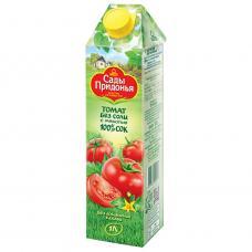 """""""Сады Придонья"""" сок томатный с солью с мякотью восстановленный 1 л"""