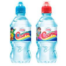 """Питьевая вода """"Святой Источник"""" Cпортик ПЭТ 0,33 л (в упаковке 12 шт)"""