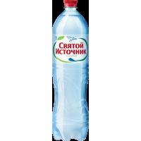 """Питьевая вода """"Святой источник"""" газ. ПЭТ. 1,5 л. (в упаковке 6 шт)"""
