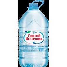 """Питьевая вода """"Святой источник"""" негаз. ПЭТ. 5 л. (в упаковке 2 шт)"""