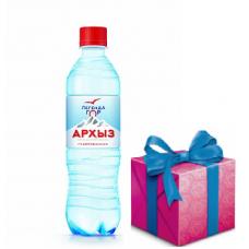 Упаковка в подарок - Легенда Гор Архыз 1,5 л газ (в упаковке 6 шт)