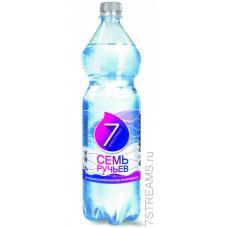 """Минеральная вода """"Семь ручьев"""" негаз 1,5л (в упаковке 6 шт)"""