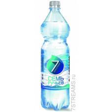 """Минеральная вода """"Семь ручьев"""" газ 1,5л (в упаковке 6 шт)"""