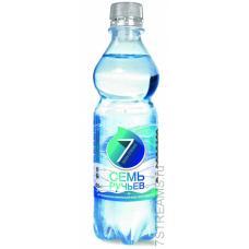 """Минеральная вода """"Семь ручьев"""" газ 0,5л (в упаковке 12 шт)"""