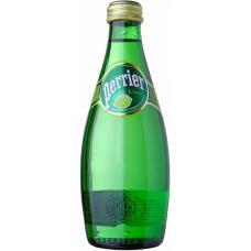 """Минеральная вода """"Перрье"""" лайм стекло 0.33л (в упаковке 24 шт)"""