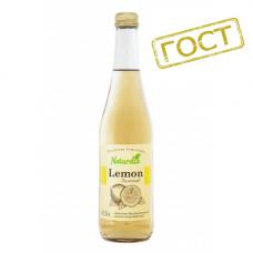 Лимонад Naturelia Лимонад 0,5 л стекло газ (в упаковке 12 шт)