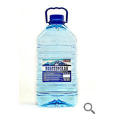 """Питьевая вода """"Новотерская Питьевая"""". 5 литров (в упаковке 3шт)"""