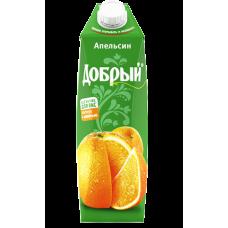 """Сок """"Добрый"""" апельсин 1л (в упаковке 12 шт)"""
