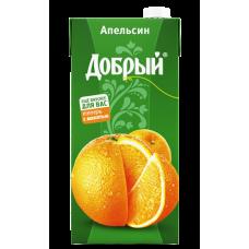 """Сок """"Добрый"""" апельсин 2л (в упаковке 6 шт)"""