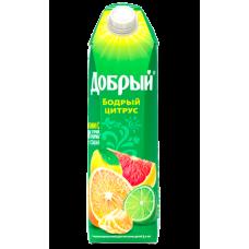 """Сок """"Добрый"""" цитрус 1л (в упаковке 12 шт)"""