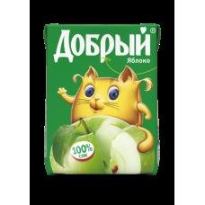 """Сок """"Добрый"""" яблоко 0,2л (в упаковке 27 шт)"""