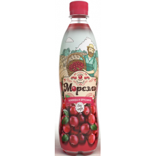 """Напиток """"МОРСЭЛЬ"""" со вкусом клюква-брусника 0,5 л ПЭТ  (в упаковке 12 шт)"""