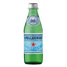 Минеральная вода  S.Pellegrino стекло, 0,25 л (в упаковке 24 шт)