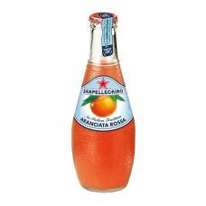 Напиток SanPellegrino красный апельсин газ стекло 0,2 л (в упаковке 24 шт)