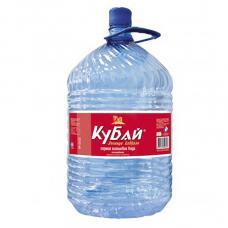 Вода «Кубай» 19 л одноразовая тара