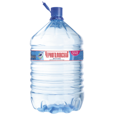 Черноголовская питьевая вода негаз 19 л одноразовый бутыль, первой категории